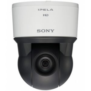 מצלמת אבטחה PTZ מדגם SONY SNC-ER580